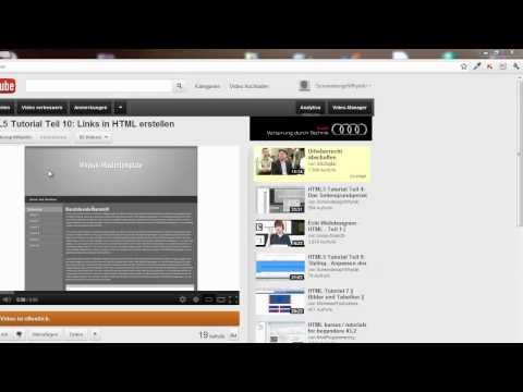 HTML5 Tutorial: Der Abschluss