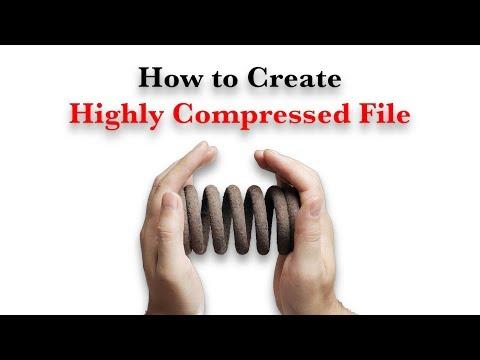 How To Compress 1GB File Into 100MB In Simple Steps