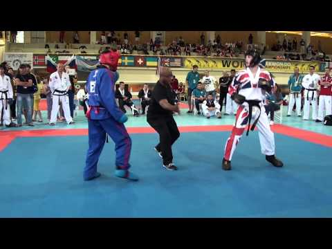 2015 World Taekwondo Championships Conor Edwards vs Michael Kaplan