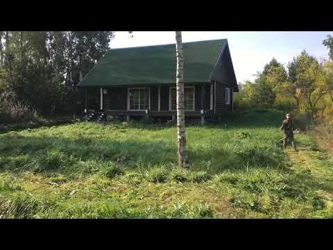 Покос травы в Семково