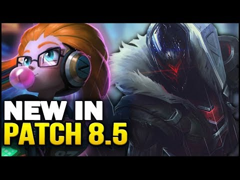 New in Patch 8.5 - Big new balance changes! (League of Legends) thumbnail