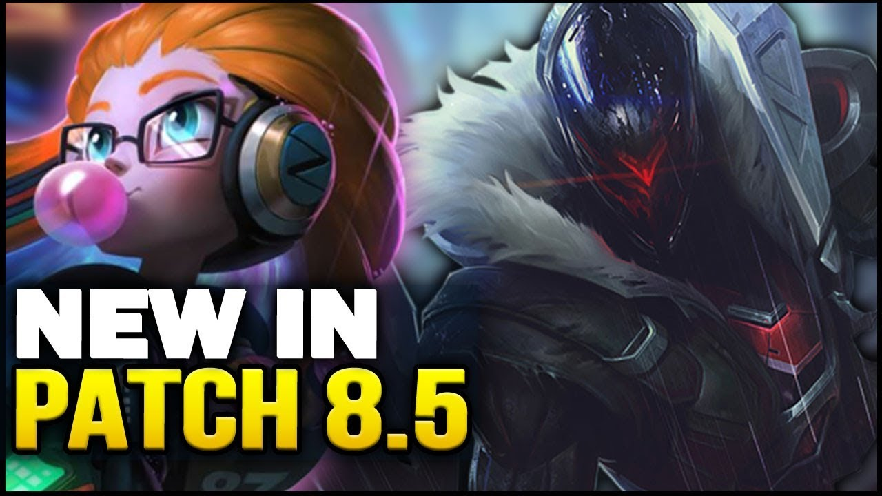 duża obniżka buty jesienne kup tanio New in Patch 8.5 - Big new balance changes! (League of Legends)