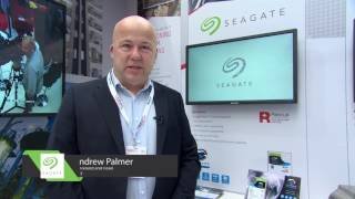Seagate at UK Security Expo 2016 - showcasing SkyHawk and Rescue Data Recovery Services