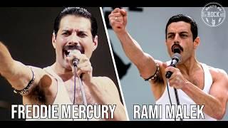 Bohemian Rhapsody Comparação entre Atores e Personagens da Vida Real