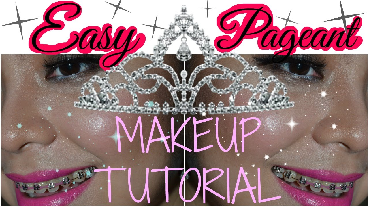 Pageant makeup