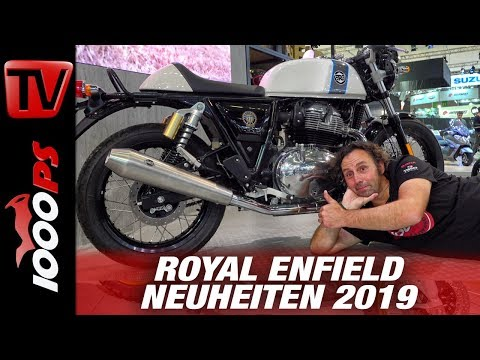 Royal Enfield Continental GT 650 und Interceptor 650  auf der INTERMOT 2018