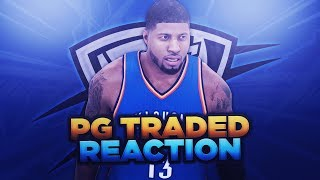PACERS FAN REACTS TO PAUL GEORGE TRADE TO OKC THUNDER!