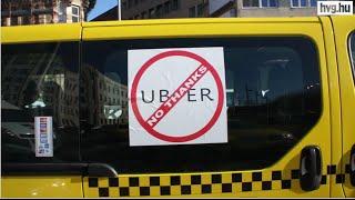 Önért is tüntetnek a taxisok