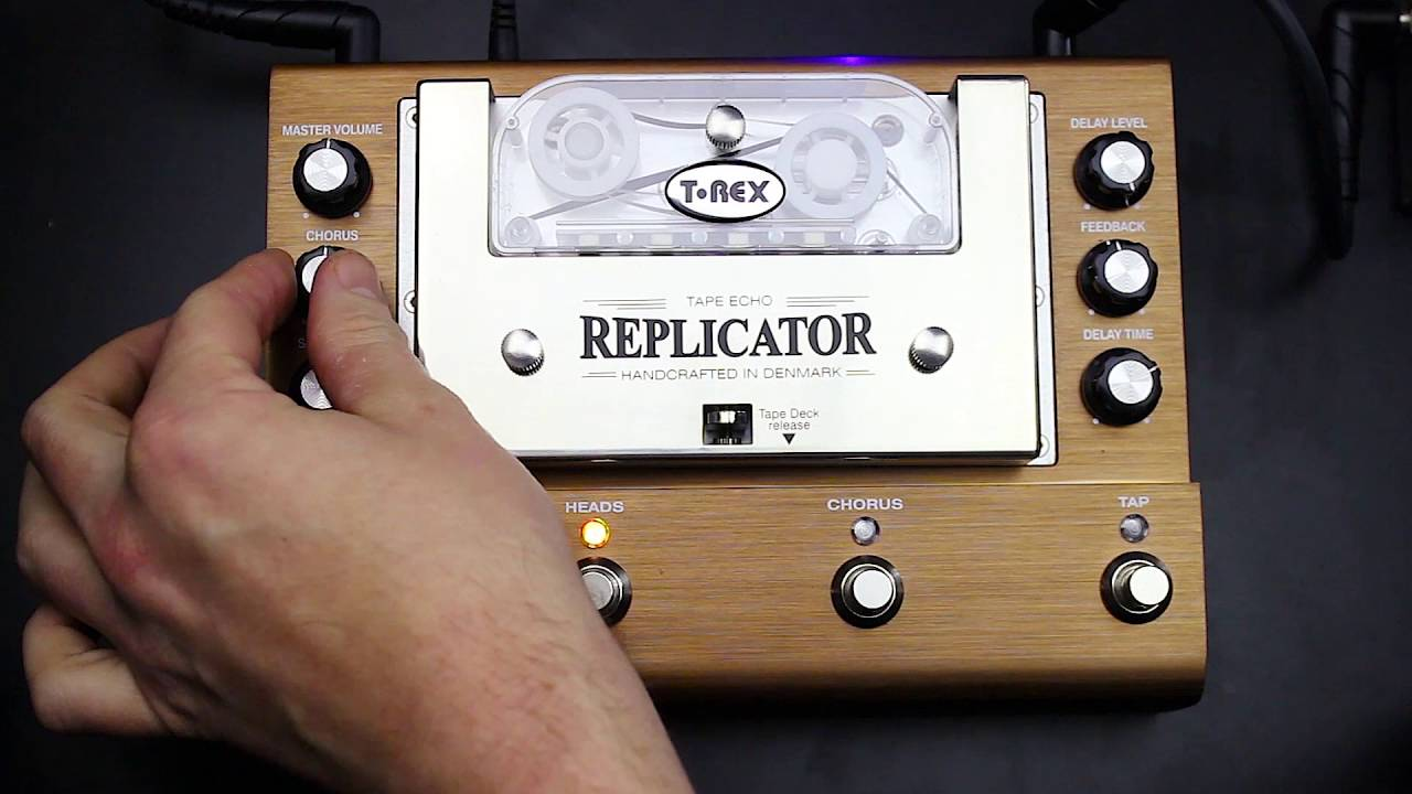t rex effects replicator tape echo demo by lanceseymour gear talk youtube. Black Bedroom Furniture Sets. Home Design Ideas