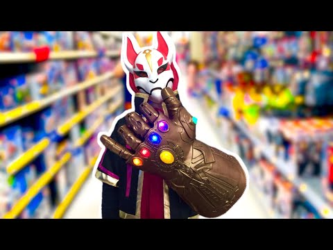 SPIRIT HALLOWEEN 2019 ROUND 2 Shopping For DRIFT COSTUME And TOY HUNTING For INFINITY GAUNTLET