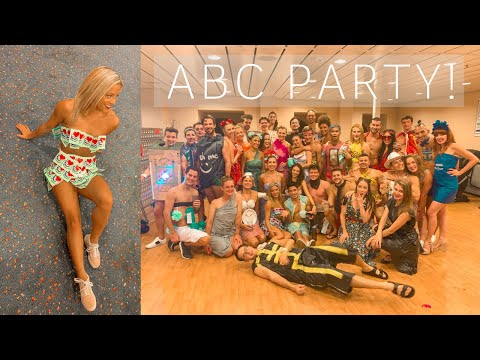 ABOARD WITH JORD: abc themed dress up crew member party!