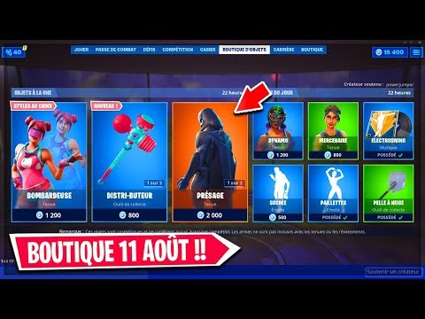 boutique-fortnite-du-11-aoÛt-2019-!-item-shop-fortnite-11-august-2019-!