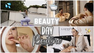 ? Beauty & Spa Routine at Home ? (Workout, Haarentferunung,Masken) -Adorable Caro