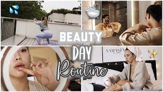 ? Beauty & Spa Routine at Home ? (Workout, Haarentferunung,Masken) -Adorable Caro