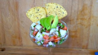 Ceviche de Pescado - Al Estilo Mexicano!