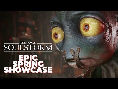 Oddworld: Soulstorm at Epic Spring Showcase