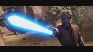 Star Wars: The Clone Wars - Master Ima-Gun Di & Captain Keeli's death [1080p]