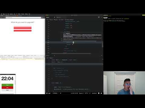 Basic HTML & CSS | Live Coding Https://upgrades.to (Twitch Stream #2)