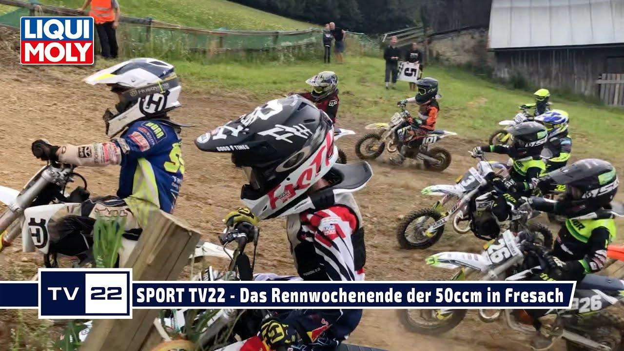 MOTOR TV22: Das Rennwochenende der 50ccm des MySportMyStory Liqui Moly JuniorCup in Fresach 2020