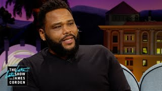 Anthony Anderson Saved a Diamond in the Drain with a Q-Tip