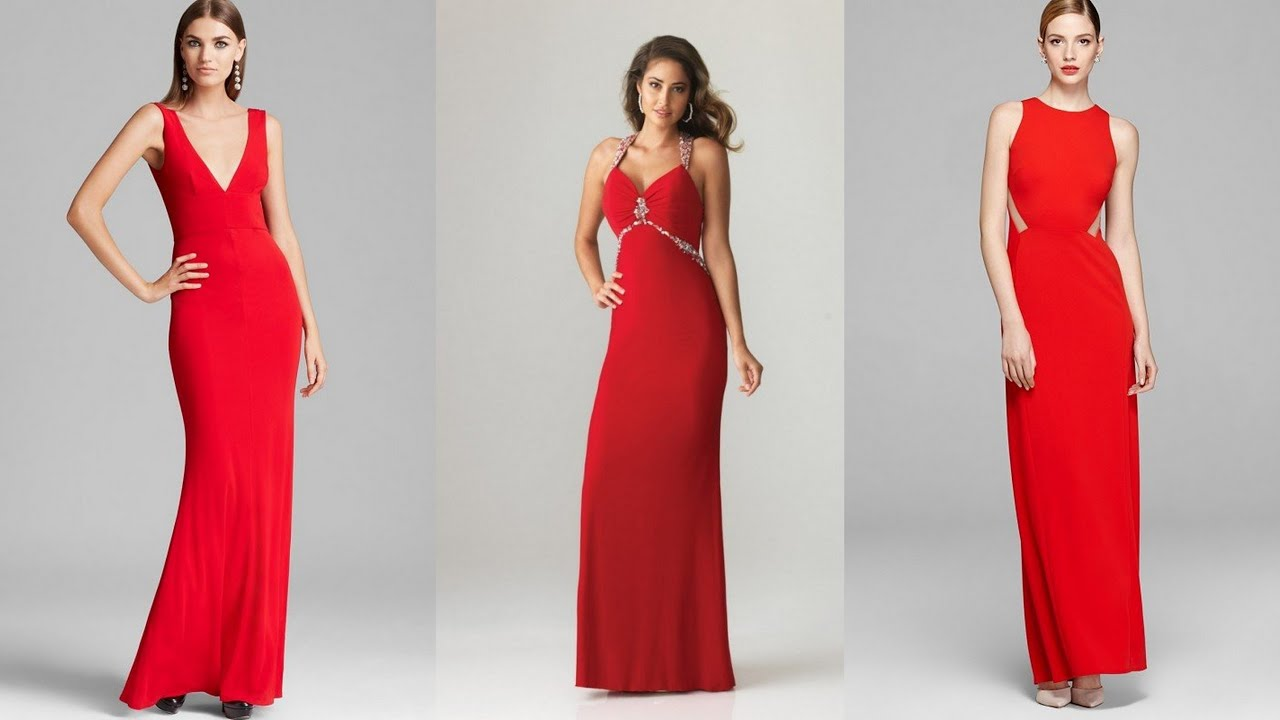 Red Bridesmaid Dresses - YouTube