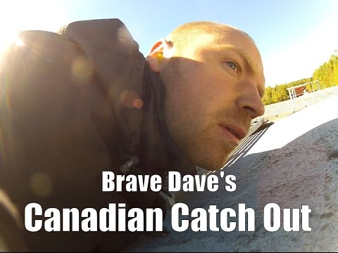 Brave Dave's Canadian Catch Out - Freight Train Hopping In C