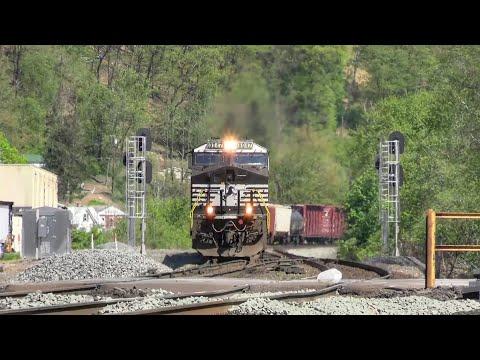 Railfanning On The NS Pittsburgh Line - Huntingdon, PA - 5/13/20