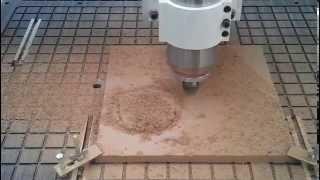 Wood Cnc Router Machine Work On MDF Board Slotting