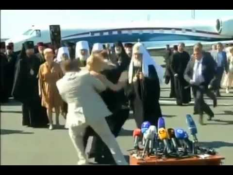 Download Topless Woman Attacks Russian Patriarch