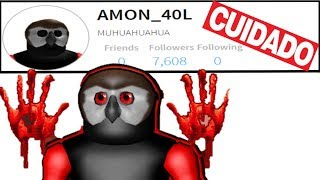 Care!!!! With the DEMON user!!! Roblox