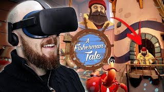 CRAZY NEW VR PUZZLE GAME!! A Fisherman