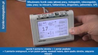 Komputer kombajn hektaromierz obrotomierz prędkościomierz URSUS C360