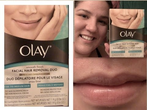 Review Demo New Olay Smooth Finish Facial Hair Removal Duo