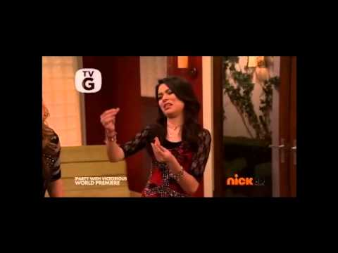 victoria justice and miranda cosgrove in iparty with victorious