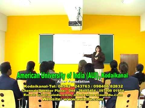 American University of India in partnership with BRADLEY University