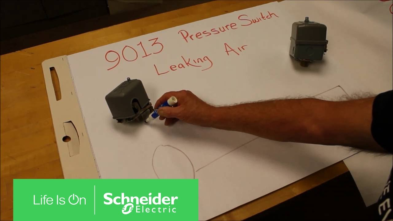 solving air leaks on square d 9013 power pressure switches schneider electric support [ 1280 x 720 Pixel ]