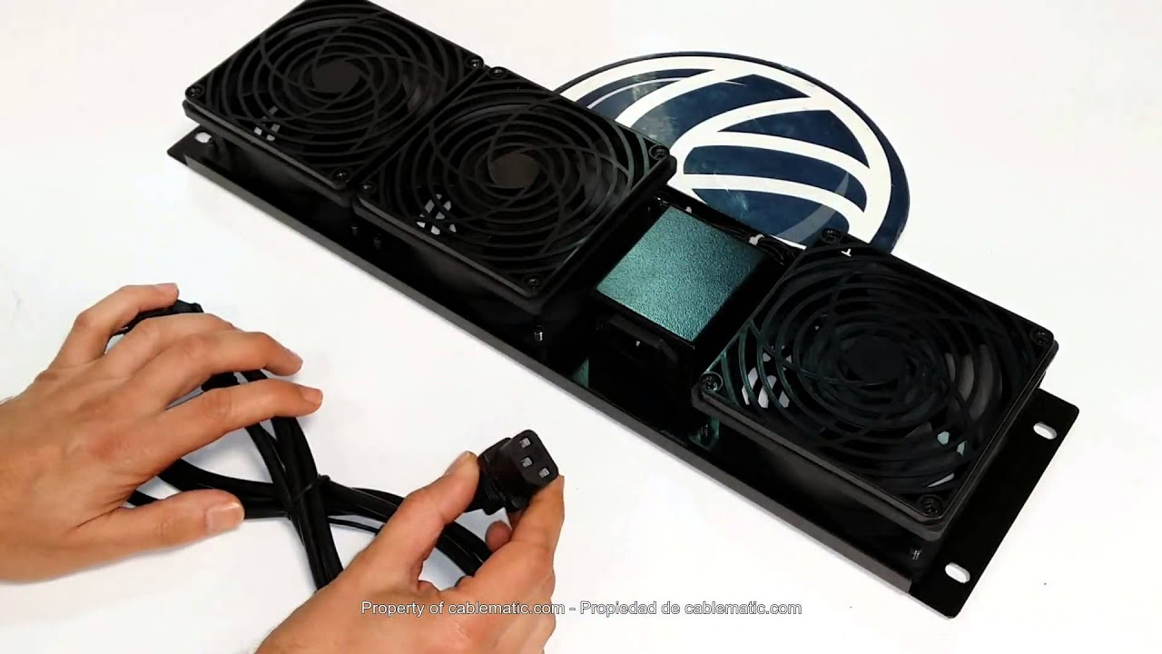 Kit de ventilaci n para rack 19 de 3u y 3 ventiladores - Ventiladores de pared ...