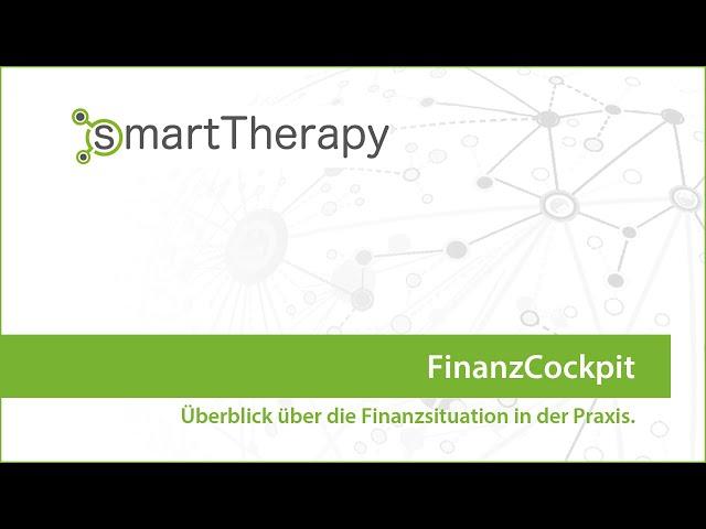 smartTherapy: FinanzCockpit