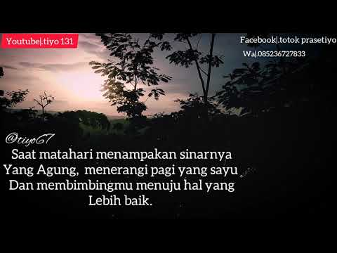 quotes keren untuk menyambut pagi hari