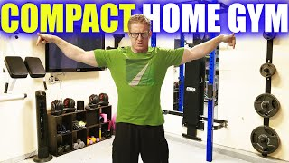 Best Garage HOME GYM- Ideas for Weight Lifting Equipment, Essentials, Tour, & Setup.
