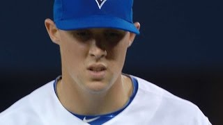 BOS@TOR: Sanchez throws two perfect frames in debut