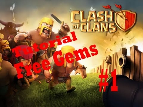 [ENG] Clash of clans get free gems, and free money in iTunes March 2013