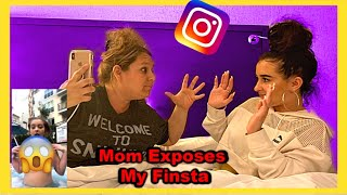 I Can't Believe My Mom Went Through My Private Instagram *BAD IDEA*