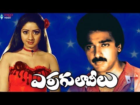 Erra Gulabeelu Telugu Full Movie   Kamal Haasan, Sridevi