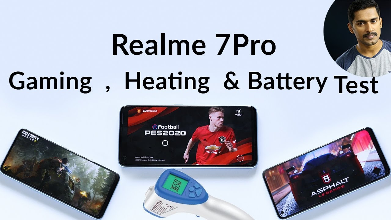 Realme 7Pro Gaming ,heating and draining test Malayalam / Realme 7 pro gaming review Malayalam