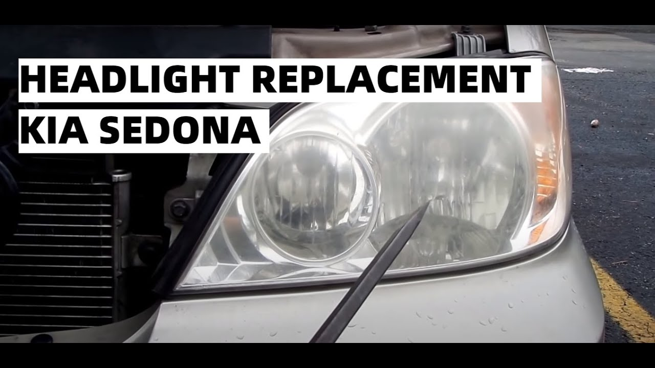 small resolution of headlight replacement kia sedona 02 03 04 05 lo high beams