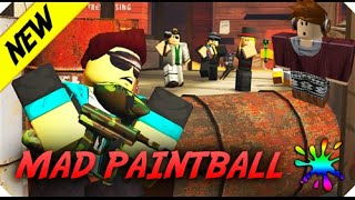 MAD PAINTBALL! Roblox lets play
