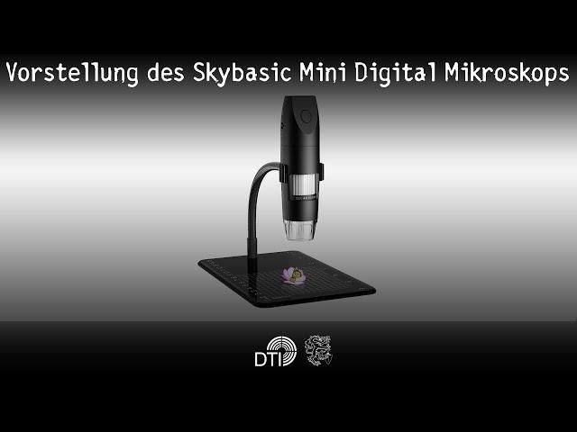 Vorstellung des Skybasic Mini Digital Mikroskops