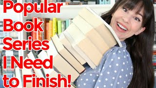 Popular Book Series I Need to Finish! || Books with Emily Fox
