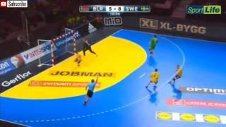 Гандбол.Беларусь - Швеция ! 1/8 Чемпионата мира 2017 ! WHC 2017, 1/8 Belarus - Sweden !